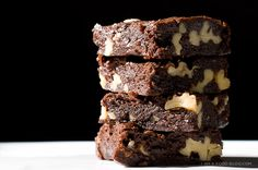 """""""These Brown Butter Brownies are so much better than Two Bite Brownies. They're like the Next Generation is to Voyager, Batman is to Robin, or Usher is to Bieber."""""""