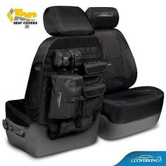 JEEP GRAND CHEROKEE COVERKING BALLISTIC TACTICAL MOLLE SEAT COVERS FRONTS