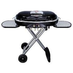 Paul Jr. Designs Coleman RoadTrip Grill, (portable grill, roadtrip grill, propane grill, coleman grill, grill, roadtrip, camping, gas grill, barbecue, camping grill)