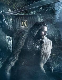 """""""If this is to end in fire, then we will all burn together"""" -Thorin, The Hobbit: The Desolation of Smaug"""
