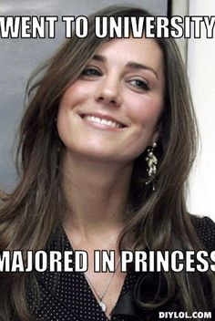 """Majored in princess lol seriously, a real woman is single mom with an education and a full time job! It is easy to be """"classy"""" when you spoiled!"""