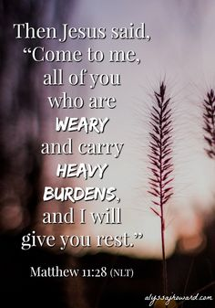 So often when we hear of the Sabbath, we view it in light of resting from a full week of work. But I think God had something different in mind. Instead of working all week and needing to rest and recover, God intended for us to work from a place of rest.