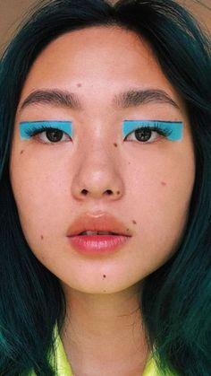Edgy Makeup, Makeup Eye Looks, Eye Makeup Art, Cute Makeup, Pretty Makeup, Makeup Inspo, Makeup Inspiration, Beauty Makeup, Makeup Eyes