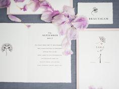 hochzeitskarten, hochzeitspapeterie, einladungskarten Jugendstil Design, Card Wedding, Invitations, Flowers