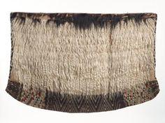 New Zealand | Maori | Kahu Koati Cloak  | Goat hair