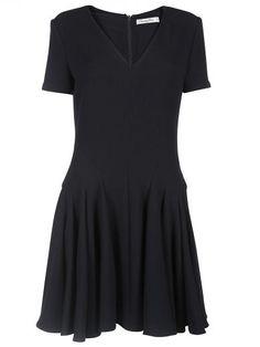 DIOR Dior V Neck Dress. #dior #cloth #dresses