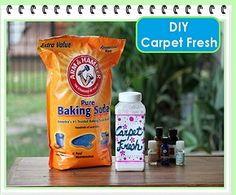 DIY Carpet Fresh!