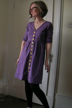 Roobeedoo: FO: Oh my Darling Ranges Dress My Darling, Ranges, Tunic Tops, Sewing, Lady, Sweaters, How To Make, Inspiration, Clothes