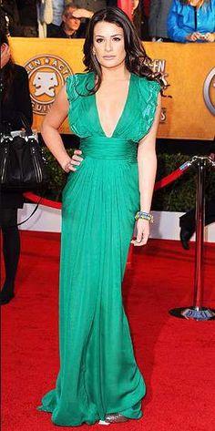 Lea Michele Malandrino Dress SAG