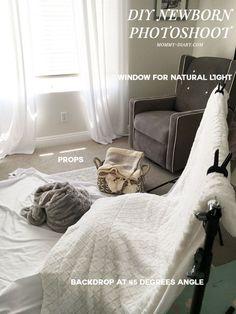 DIY-newborn-photoshoot