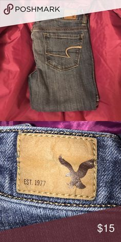 American Eagle Outfitters Skinny Jeans Light washAnd slightly distressed! Can be dressed up for a flirty look or could be dressed down for a more casual look! Loved these jeans and are sad to loose them! ❤️ American Eagle Outfitters Jeans Skinny