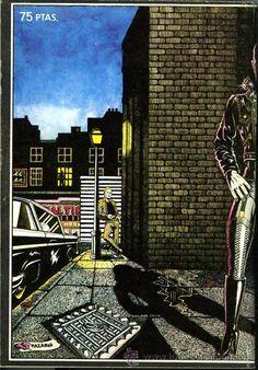 ROCK COMIX - Nº 2 - LOU REED & VELVET UNDERGROUND - 1976 - PORTADA NAZARIO - Foto 2