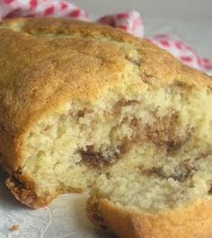 Cinnamon Sugar Bread - fast and easy.