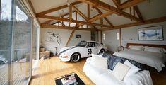 Porsche en un estudop