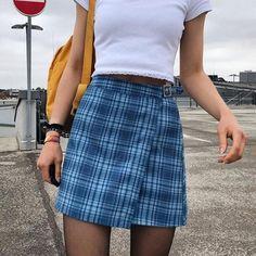 Foridol plaid vintage belt skirt women chic streetwear check mini skir – cuteshoeswear dress to skirt refashion skirt fashion dress to skirt skirts dresses #skirt #dressesandskirtsoutfits #alineskirtoutfits #dresstoskirt Yellow Plaid Skirt, Gingham Skirt, Plaid Skirts, A Line Skirt Outfits, A Line Skirts, Cute Skirts, Mini Skirts, Check Mini Skirt, Indie Outfits