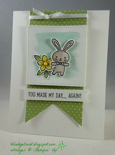 Windy's Wonderful Creations: You Made My Day!, Stampin' Up!, Basket Bunch, Basket Builder dies