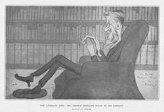GEORGE BERNARD SHAW By Max Beerbohm - Antique Print 1903 in Art, Prints, Antique (Pre-1900) | eBay