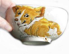 Pembroke Welsh Corgi Ceramic Bowl
