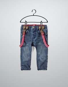 jeans with braces - Jeans - Baby boy (3-36 months) - Kids - ZARA United States