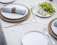 Tablecloth Italian | Natural Stripe