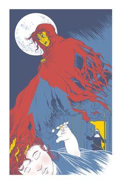 """Illustration for """"Beloved"""" Comic Book :: David Habben"""