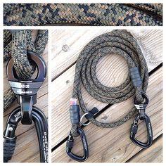 Hands Free Dog Leash - Forest Camo Climbing Rope - MyDogsCool.com