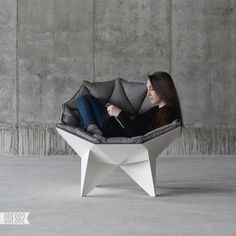 Buckminster Fuller-Inspired Geodesic Chair Offers a Futuristic Form