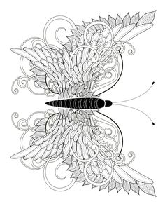 Free Online Coloring Pages for Adults New 23 Free Printable Insect & Animal Adult Coloring Pages Animal Coloring Pages, Coloring Book Pages, Coloring Pages For Kids, Coloring Sheets, Coloring Tips, Free Online Coloring, Printable Adult Coloring Pages, Tattoo Painting, Butterfly Coloring Page