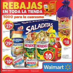Walmart catalogo ofertas del 14 al 27 de marzo Walmart catalogo, válido del 14 al 27 de marzode 2014, donde encontrarás algunas de las siguientes ofertas y promociones: > Cereal Nesquick 755g a solo $39.90 > Cereal Fitness + Cheerios 1.05Kg en total a solo $45.90 > Sahmpoo Dove 750ml + ... -> http://www.cuponofertas.com.mx/oferta/walmart-catalogo-ofertas-del-14-al-27-de-marzo/