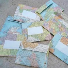 Projects from old maps