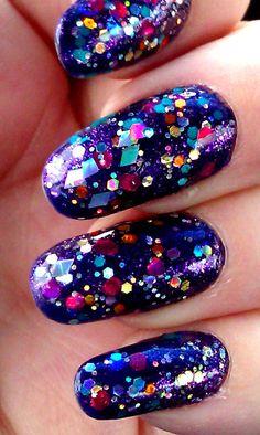 Vegas Baby Hand made custom nail polish by GlimmerbyErica on Etsy, $9.00