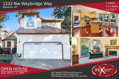 *** OPEN HOUSE *** | DEC 3 | SUN 2- 4PM | 1232 NW Weybridge Wy Beaverton, OR | 3 Beds | 2.1 Baths | 1,730 Sqft |  #PDXPropertyGroup #OpenHouse #BeavertonOregon #BeavertonRealEstate #OregonHomes #OregonProperty #ForSale #RealEstate #HouseHunter #DreamHouse #House #HouseHunting #CurbAppeal #Investment #HomeSweetHome #HomeBuyers #HomeForSale #HomeSearch #PropertyForSale #PropertyInvestment #Realty