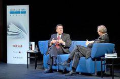 Gerhard Schröder im Gespräch mit Wolfgang Herles