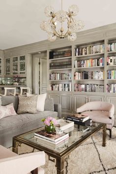 Cozy and Colorful Pastel Living Room Interior Style 43 Living Room Interior, Living Room Decor, Living Spaces, Dining Room, Bookcase In Living Room, Living Room Seating, Interior Livingroom, Pastel Living Room, Taupe Living Room