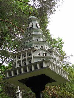 Fancy birdhouse at Kentuck Knob | Flickr - Photo Sharing!