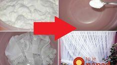 Toto doslova rozžiari vaše záclony aj bielizeň z čipky a háklivých materiálov: Funguje to aj na staré škvrny! Funguje To, Household, Cards, Home Decor, Cleaning, Decoration Home, Room Decor, Maps, Home Interior Design