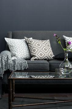 31 best dark grey sofa cushions and decor images houses home rh pinterest com