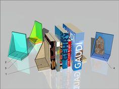 Podpórka do książek, płyta MFP, zrób to sam/ bookend, MFP board, DIY, #MFP Bookends, Logos, Board, Diy, Bricolage, Logo, Do It Yourself, Homemade, Diys