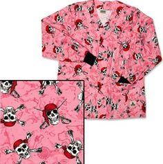 Juicy ass milf in pink scrubs