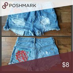 Shorts Ripped jean shorts Kendall & Kylie Shorts Jean Shorts