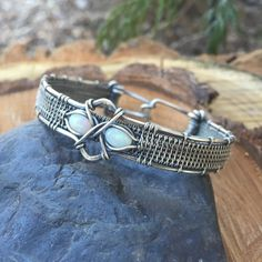 A personal favorite from my Etsy shop https://www.etsy.com/listing/269346559/opal-bracelet-wire-wrap-wire-wrap