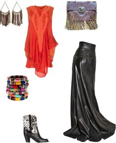 """""""Sexy Boho Cowgirl"""" by msdsw on Polyvore"""