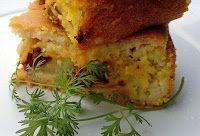 Torta Crocante com Veggies (vegana)