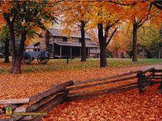 Latta House, Prairie Grove Battlefield State Park, Arkansas...some of my kinfolks originated this farm.