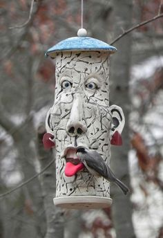 1Chickadee face by Alice DeLisle, via Flickr