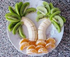 A fun way to present and eat your fruit!