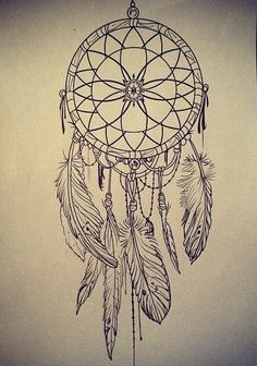 dreamcatcher sketch - Google Search