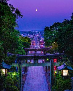 Sad Wallpaper, City Wallpaper, Japanese Shrine, Zen Garden Design, Japanese Travel, Flight Attendant Life, Aesthetic Japan, Destinations, Fantasy Landscape