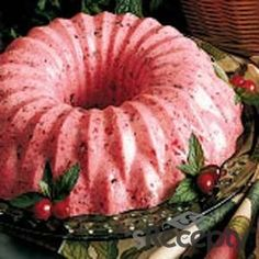 Mousse de fresas (frutillas)