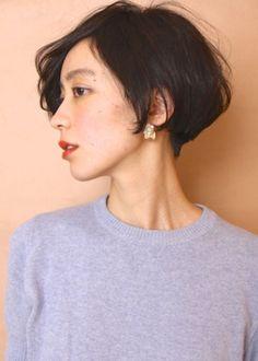 Resultado de imagem para short hair japanese